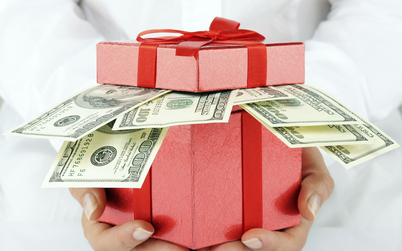 Лучший для нас подарок деньги